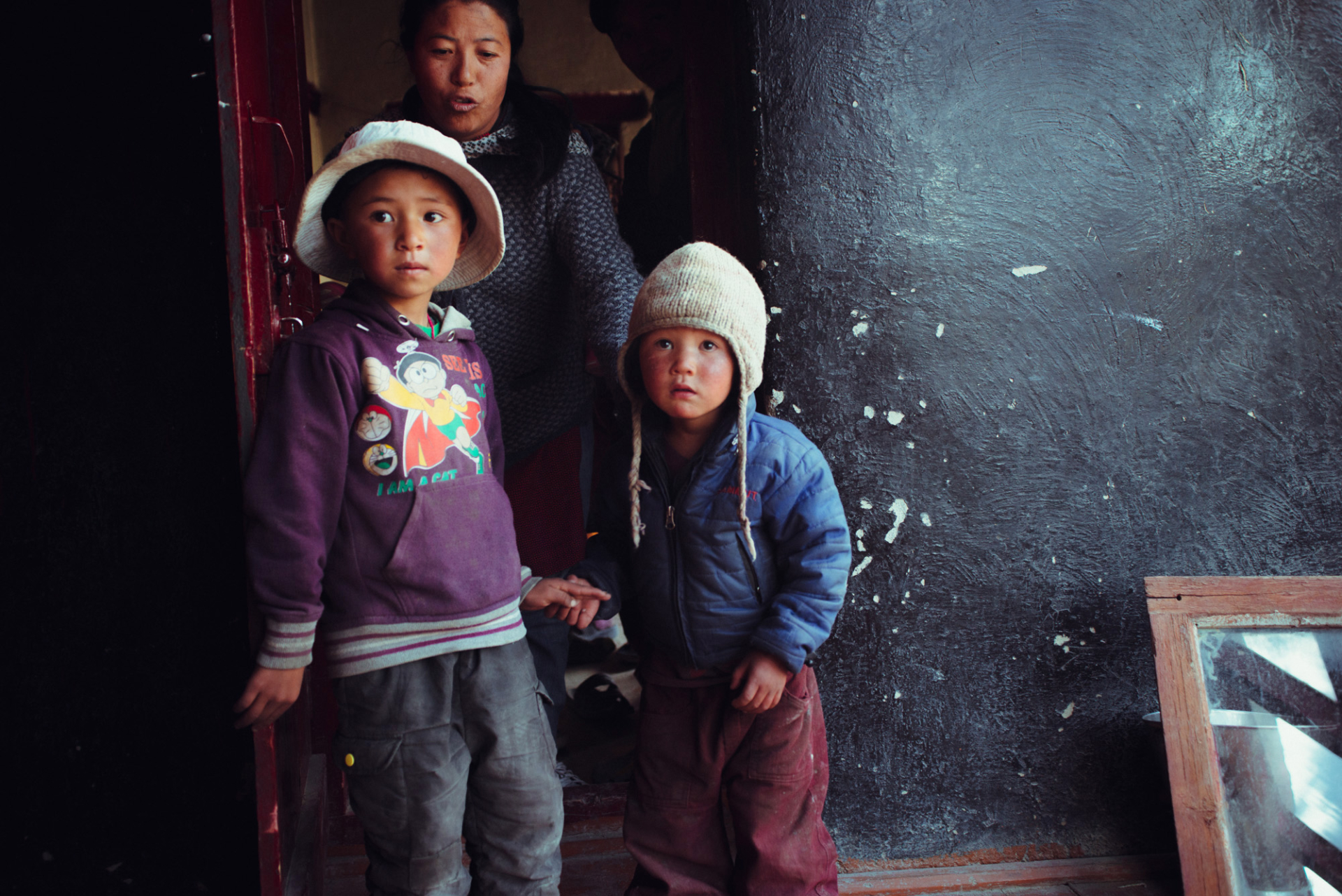 Children of Zanskar 28th Jan '16 — Jackets, Shoes & Smiles!